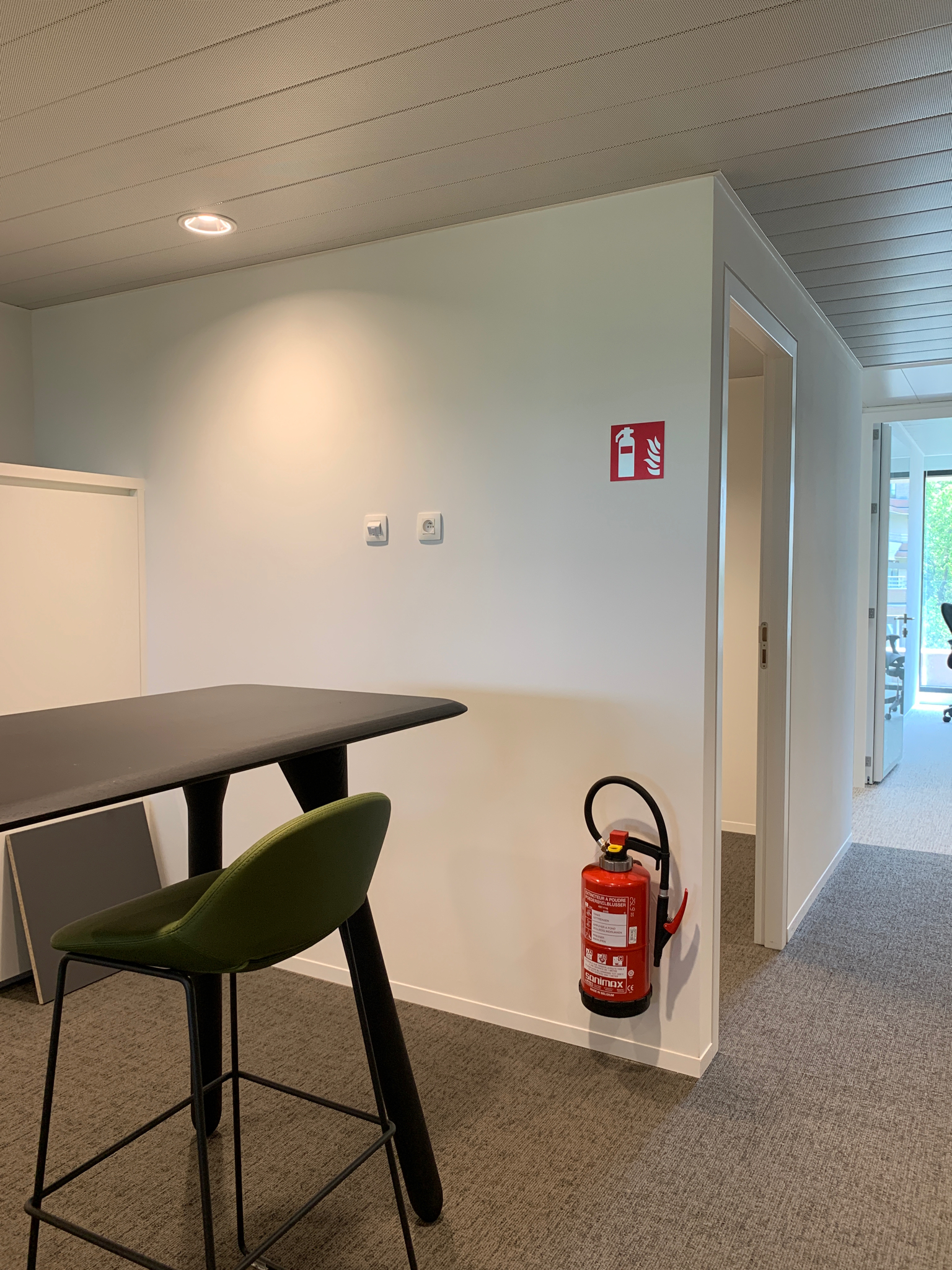 Wayfinding – veiligheidssignalisatie in het gebouw van tervuren by actual sign member of the remotec group